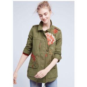 Anthropologie Hei Hei embroidered jacket
